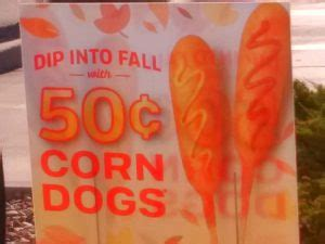 sonic corn day sonic corn dogs day 0 50 corn dogs coupon world