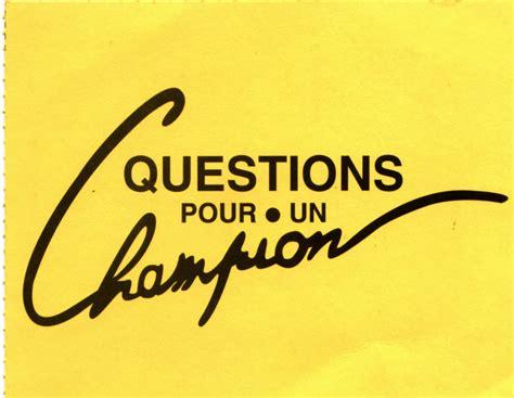 Question Pour Or Mamie Was Right Question Pour La Chionne