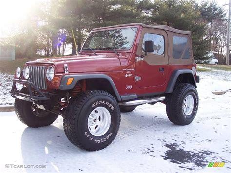 1998 chili pepper pearl jeep wrangler sport 4x4 24588935 gtcarlot car color galleries