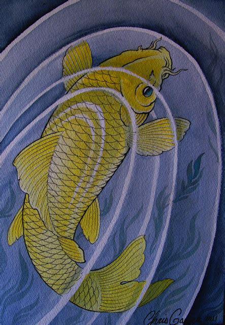 koi tattoo chris garver be yes koi fish by chris garver