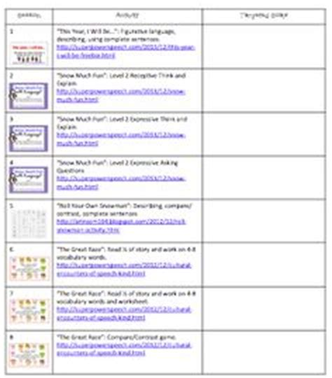 this is an easy to use lesson plan template for speech and