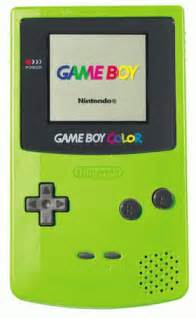 gameboy color nintendo gameboy color green