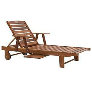 letaba lounger with tray tradewinds