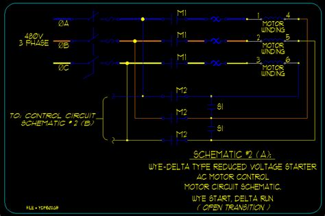 wye delta motor starting schematics ecn electrical forums