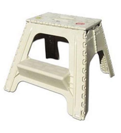 Collapsible 2 Step Stool by Two Step E Z Foldz Folding Step Stool In Step Stools