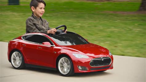 radio flyer s tesla model s for charges like the real