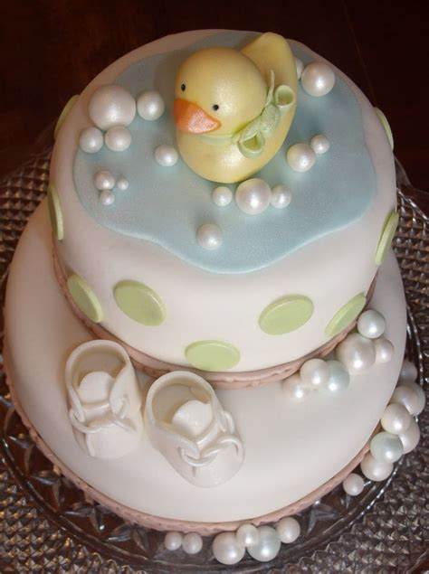Duck Baby Shower Cake by Rubber Ducky Cake Baby Wedding Showers