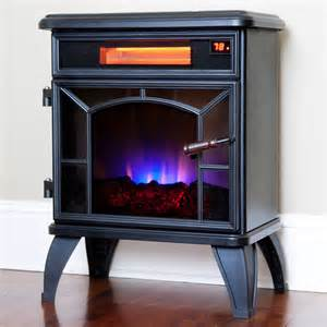 Electric Stove Fireplace Duraflame Black Infrared Stove Dfi 550 0