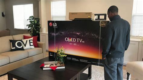 lg 4k thin tv esp 2017 lg 4k hdr oled e7 unboxing install brand new lg