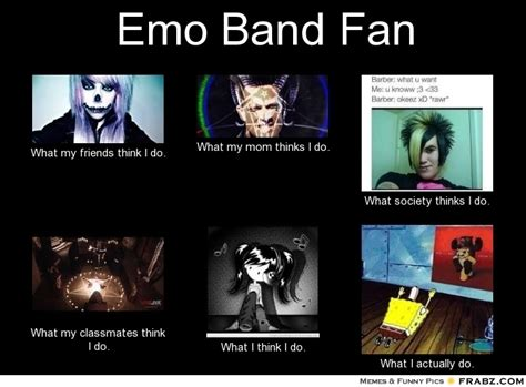 Emo Band Memes - emo band fan meme generator what i do