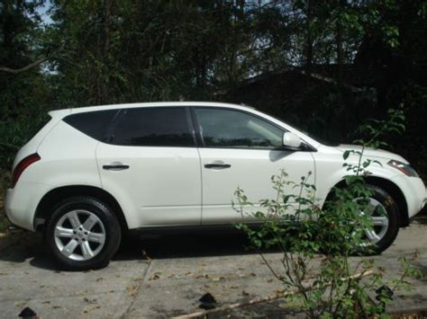 purchase used 2006 nissan murano 6 cylinder gas sport