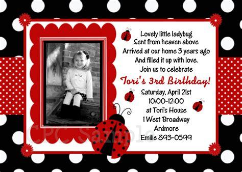 free printable birthday cards ladybugs ladybug invitation ladybug party birthday invitations