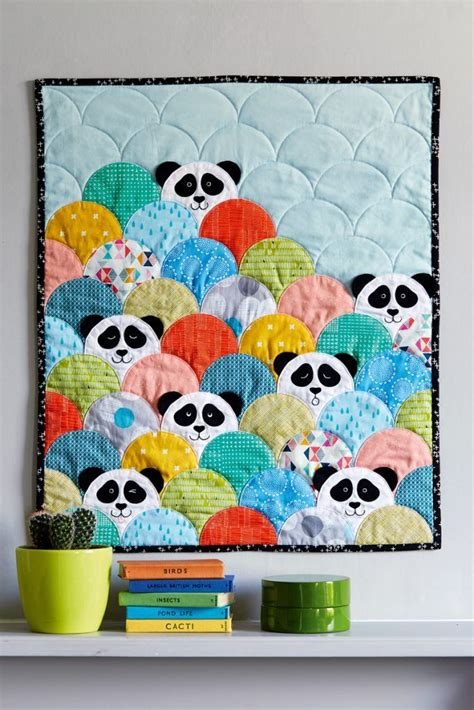 Patchwork Quilt Patterns For Babies - project panda patchwork iss 41 what a creative