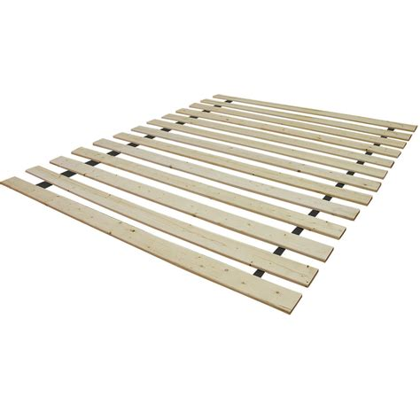 Postureloft Ovation Attached Solid Wood Bed Support Slats Wood Bed Frame Support