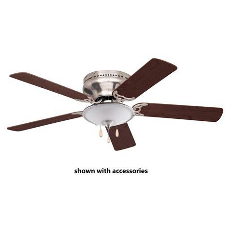 monte carlo mini 20 20 in brushed steel ceiling fan
