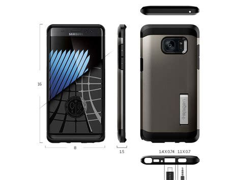 Spigen Galaxy Note 7 Tough Armor spigen tough armor samsung galaxy note 7 hoesje