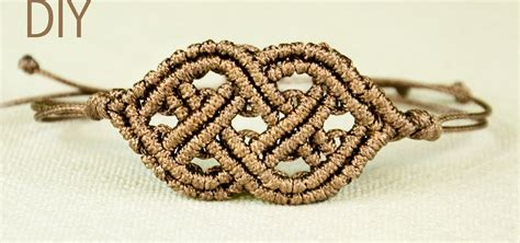 How To Make A Macrame - celtic style macrame bracelet 171 jewelry