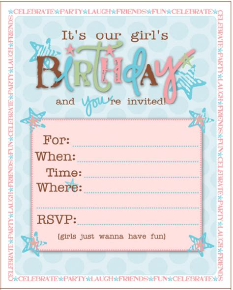 printable girl birthday decorations birthday party ideas for girls free printables