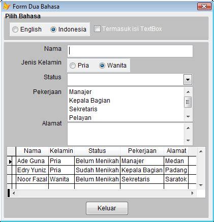 membuat form login dengan foxpro foxpro mania membuat form dengan multi bahasa