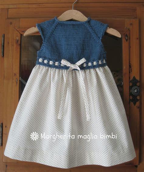 per bambina abito bimba primavera sprone a maglia denim gonna