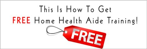 this is how to get free home health aide