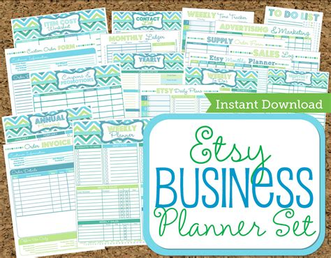 etsy free printable planner etsy business planner poison apple apothecary