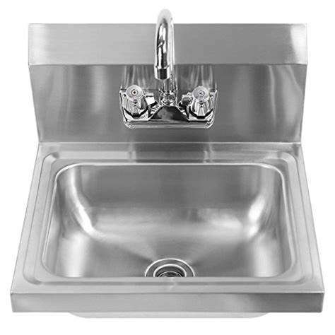 stainless steel commercial hand wash sinks gridmann commercial nsf stainless steel wall mount