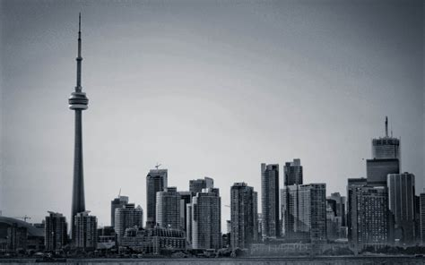 toronto skyline black and white wallpaper 1080p toronto wallpapers hd where you can start your