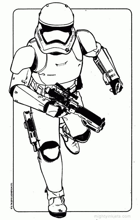 kylo ren and the first order stormtroopers coloring page stormtrooper coloring pages coloring page for kids