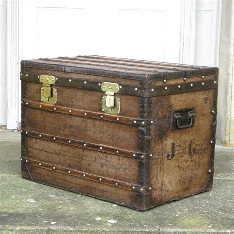 Luggage Trunk Coffee Table Louis Vuitton Vuittonite Trunk Coffee Table C 1860 Leather Trunks Luggage