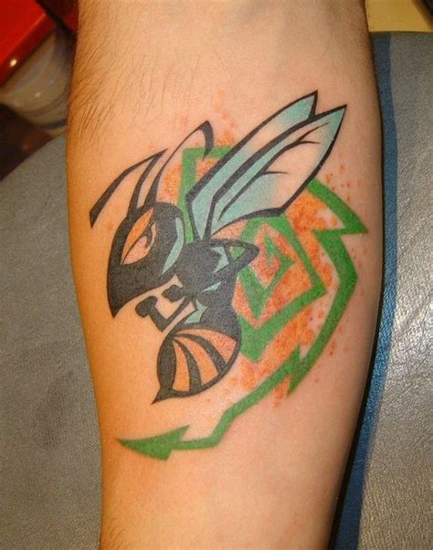 hornet tattoo 104 best hornet images on basketball netball