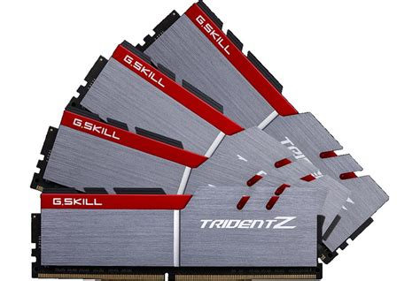 Gskill Ddr4 Tridentz Pc25600 32gb 4x8gb Channel g skill announces another ddr4 ram kit with an extremely