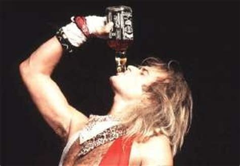The World According To Jack Daniels: Some Pics Of David Lee Roth with Jack Daniels