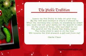The Christmas Pickle Ornament - start the christmas pickle tradition family focus blog