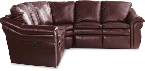 3 pc reclining corner sectional sofa by la z boy