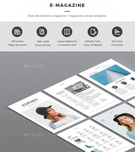 e magazine templates free top indesign templates to showcase your ebook envato