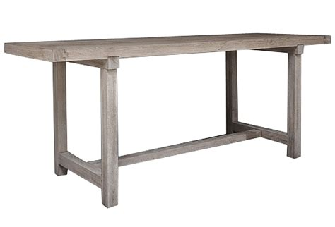 belgian high table or bar table with stretcher omero home
