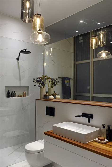 the block bathroom designs the block glasshouse en suite room reveals the interiors