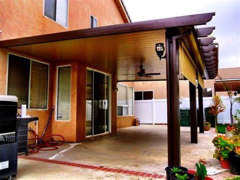 solid alumawood patio cover corona ca patio