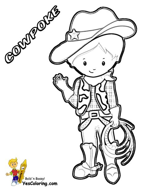cowboy coloring pages ride em cowboy coloring free coloring for westerns