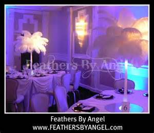 ostrich feathers centerpieces for rent ostrich feather centerpieces for rent from feathers by