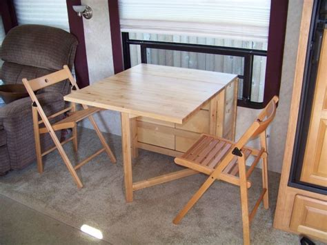 rv dinette table replacement dinette replacement with table and chairs c trailer