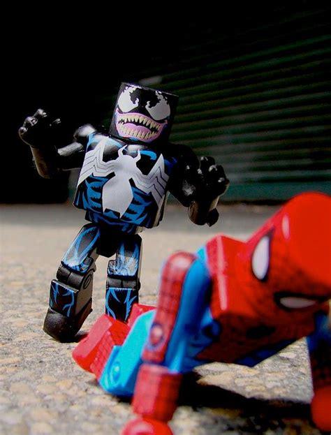 Venom Marvel Figure Mini Mates venom through the ages marvel minimates the toyark news