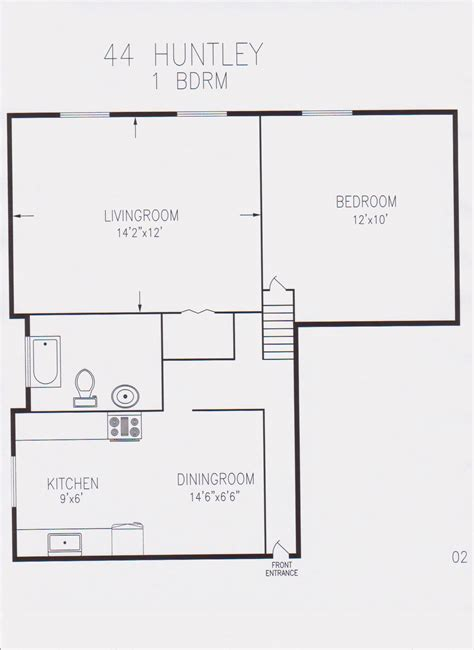 600 sq feet 600 sq ft house plan home design