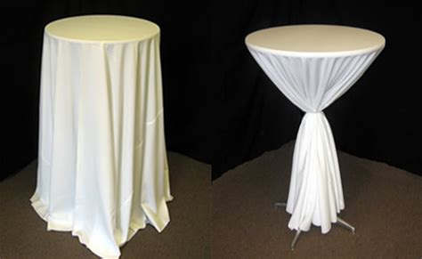 what size tablecloth for high top table rental tent rental chairs rental tables