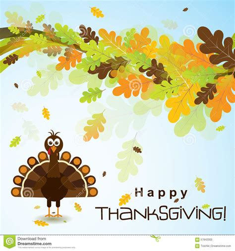Thanksgiving Card Template Free Illustrator by Template Greeting Card With A Happy Thanksgiving Turkey