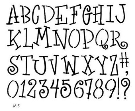printable primitive letter stencils 11 best stencils letters images on pinterest primitive