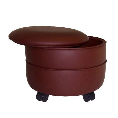 Nw Rounded order here nw enterprises vinyl storage ottoman
