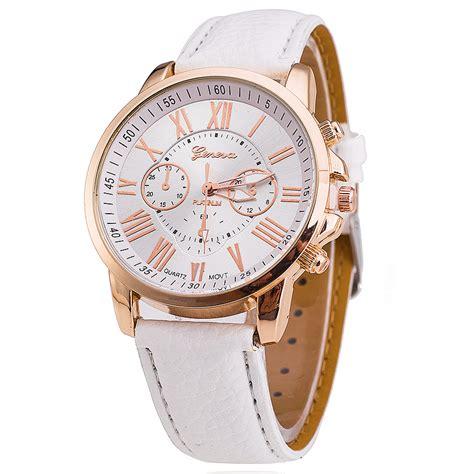geneva relogio feminino fashion wristwatch