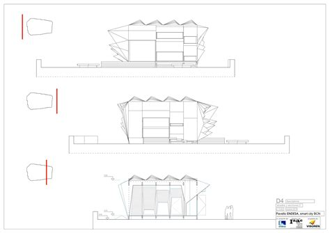 Drawing Plan gallery of endesa pavilion institute for advanced